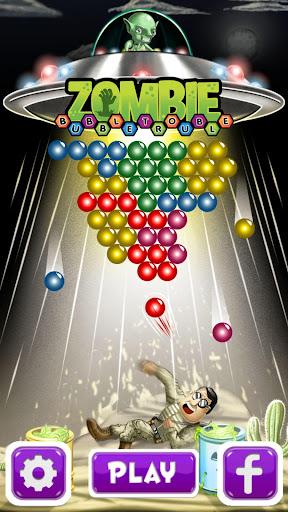 Zombie Bubble Trouble