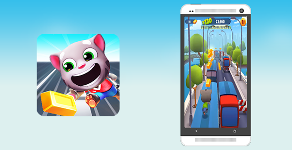 guide talking tom gold run - náhled