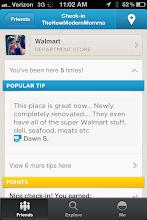 Photo: Got to check in on Foursquare.