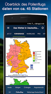 The Weather in Germany: Radar, weather warnings APK image thumbnail 4