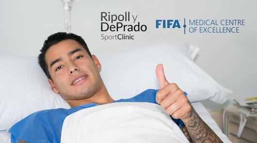 Sergio Araújo, operado por Ripoll y De Prado