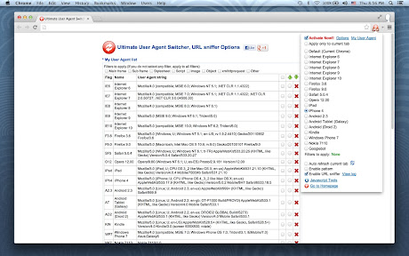 User Agent Switcher, URL sniffer Chrome插件下载crx 扩展介绍- 插件迷