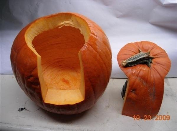 Jack O Lantern Easy Carve Recipe