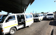 Transport Minister Fikile Mbalula is still in discussion with the taxi industry, to find a solution to the impasse after a dispute over the conditions required for Covid-19 relief. File image