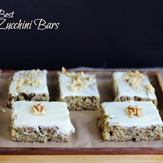 The Best Zucchini Bars