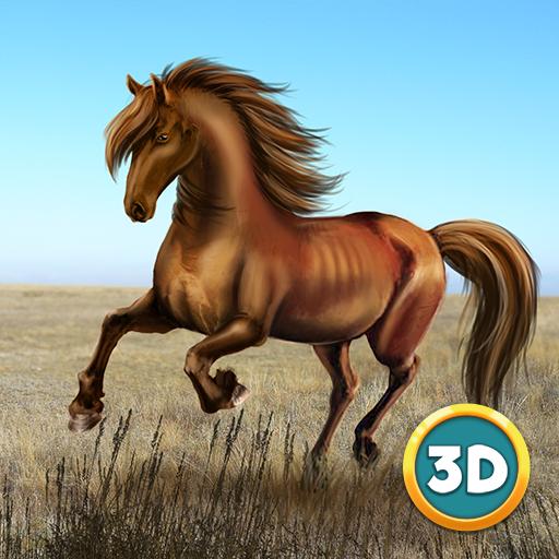 Wild Mustang Horse Simulator