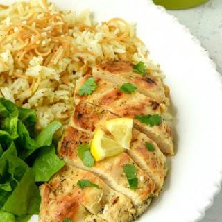 Greek Chicken.