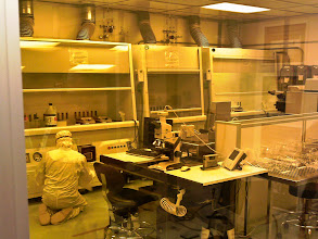 Photo: Clean Room in the Sensors Lab