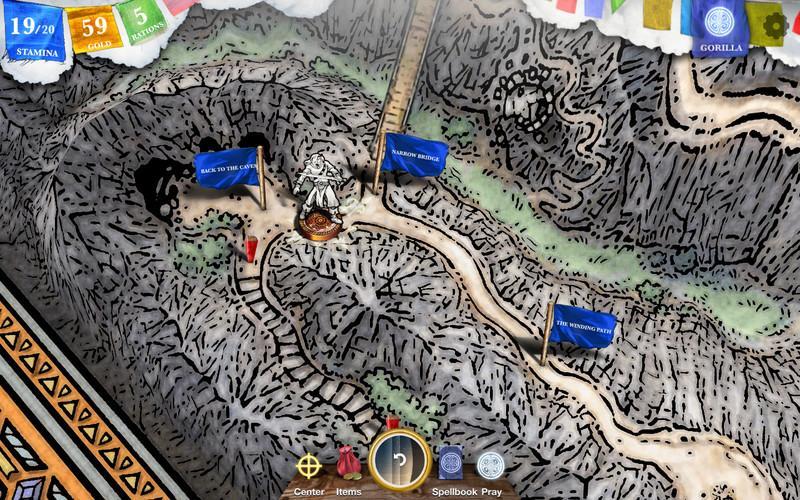 Sorcery! 4 Screenshot 1