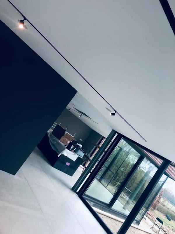 Akoestisch spanplafond - nieuwbouw