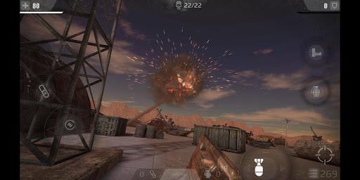 tir zombie roi : jeux de tir gratuit fps  captures d'écran 2