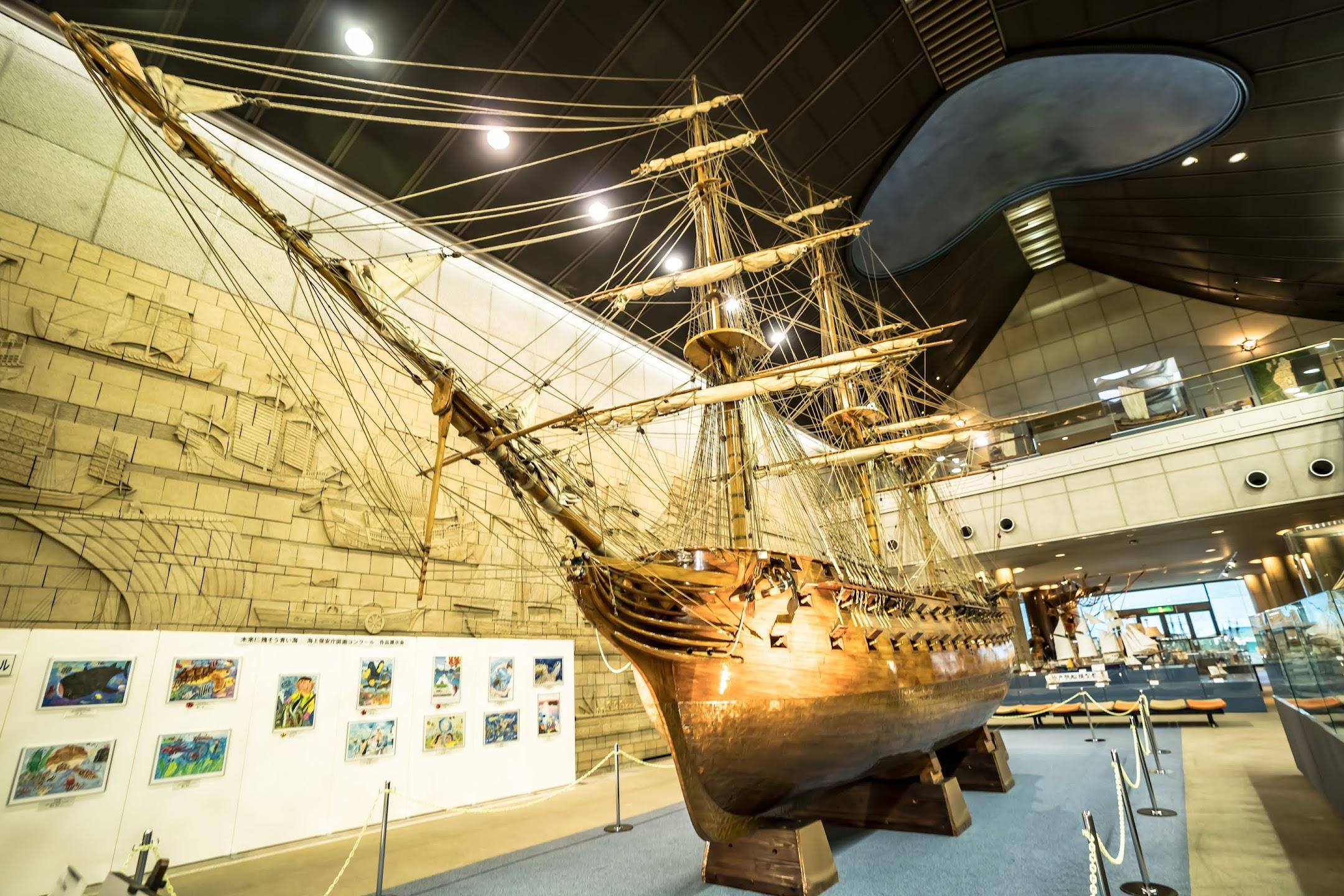 神戸 メリケンパーク 神戸海洋博物館2