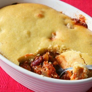 Buttermilk Cornbread Topped Chili