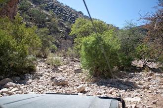 Photo: End of the road towards Robbie's pass / Konec úmorné cesty na Robertův přejezd