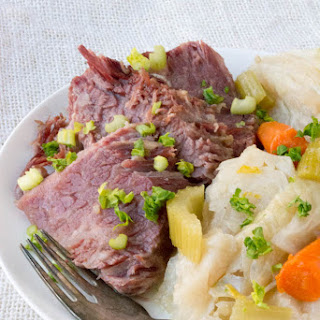 Low Carb Corned Beef and Cabbage (Instant Pot or Crock Pot).