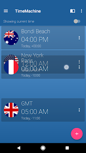 Time Machine - World Clock- screenshot thumbnail
