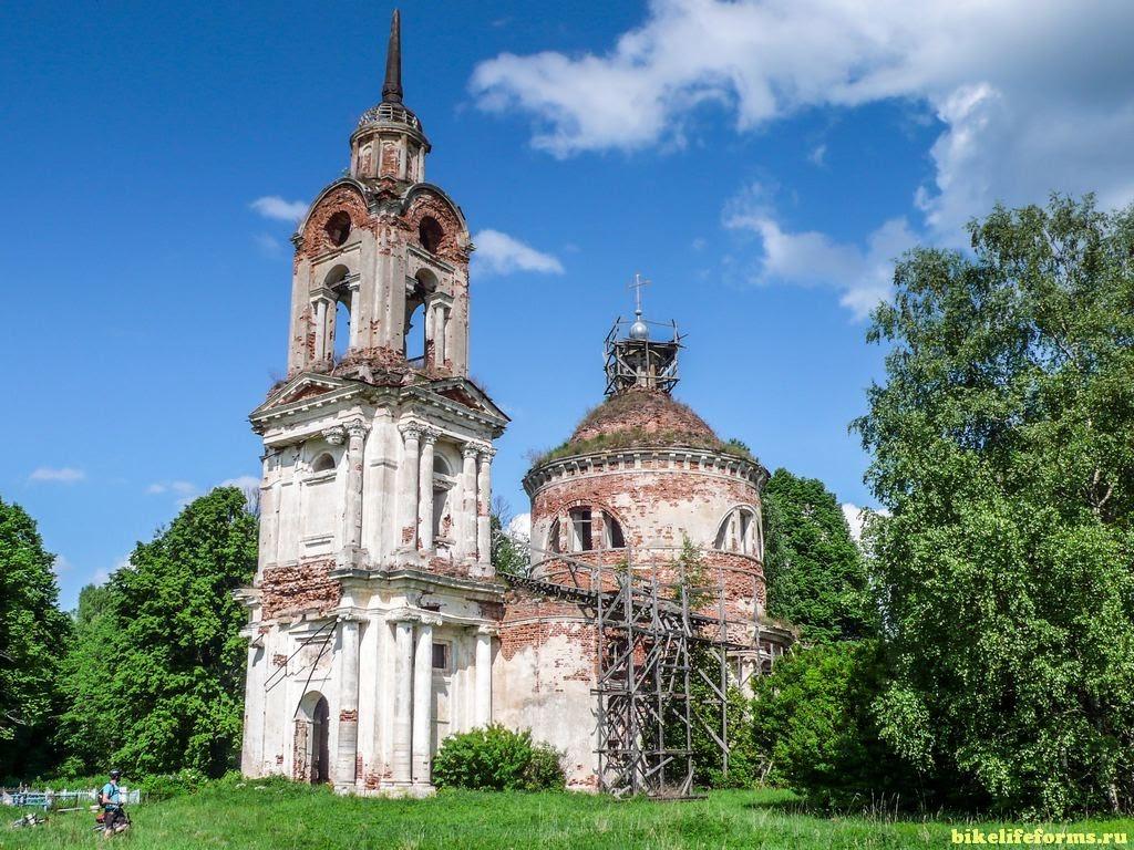 Церковь Иконы Божией Матери Казанская в Заречье