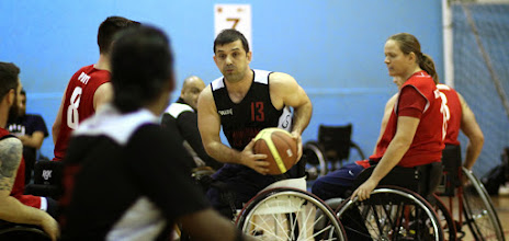 Photo: Photo during the match between CELTS 1 and Birmingham Blackcats at Talybont Sports Centre, Cardiff Uni on 15 Feb 2015