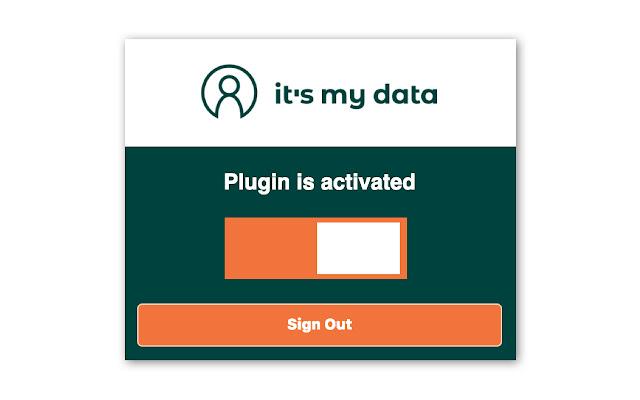 it's my data