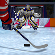 Ice Hockey shooting