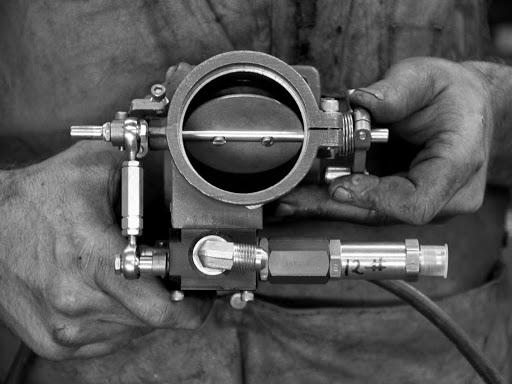 Injection Hilborn monté sur une XRTT.