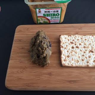 Recipe of Eggplant Miso Dip.
