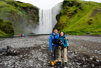 Photo: Finally at Skógafoss after 15 mi and +3000 ft