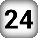 24 hours schedule notes icon