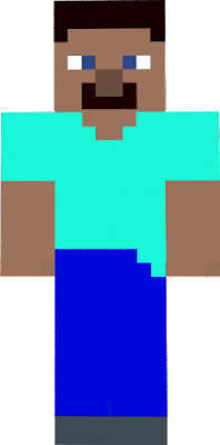 steve was borirng and too old so i made the same skin, a bit better and more colorfull