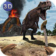 Dinosaur Island Survival 3D Icon