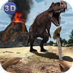 Dinosaur Island Survival 3D Icon