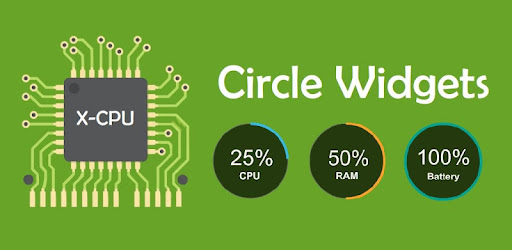 X-CPU - Circle Widgets for PC
