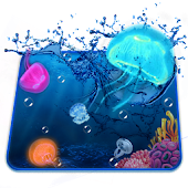 Aquarium Jelly Fish 3D Theme