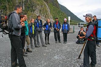 Photo: Unsere Gletschergruppe