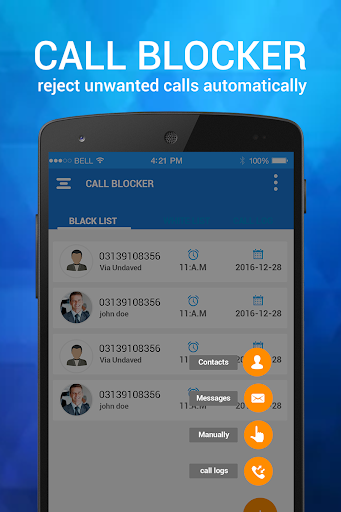 Download Calls Blacklist - Call & SMS Blocker on PC & Mac with