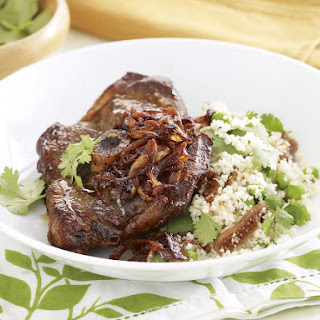 Lamb with Fig Couscous.