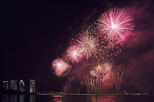 Putrajaya International Fireworks 2013 - USA Team by Dokter Ajai - Abstract Fire & Fireworks