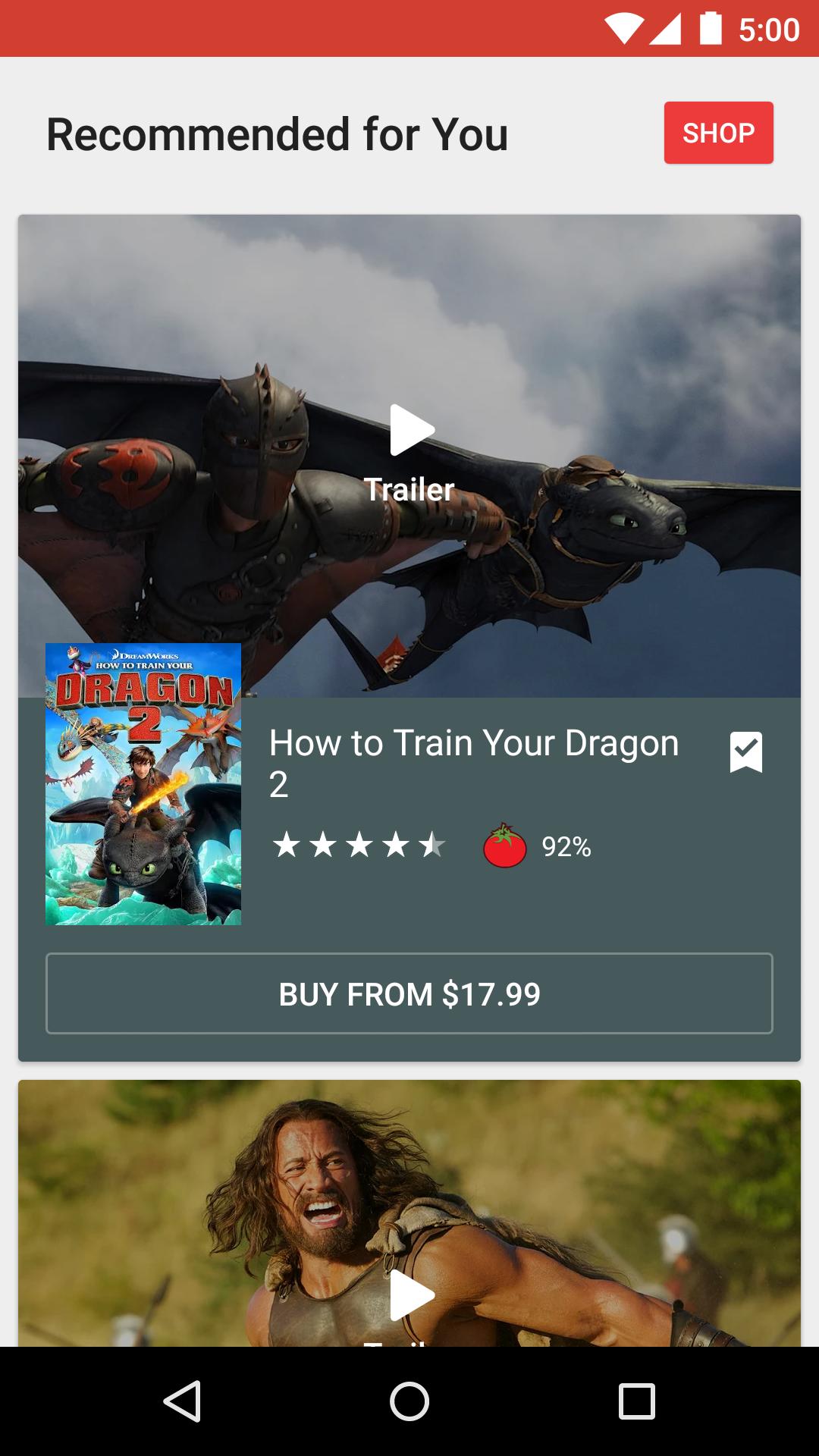 Google Play Movies & TV screenshot #3