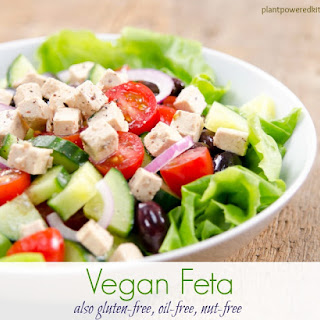 Tofu Feta vegan, gluten-free, oil-free, nut-free