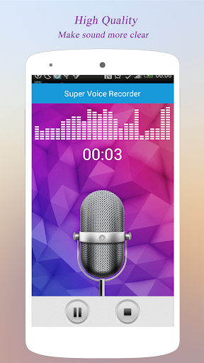 Super Voice Recorder 1.6.70 gameplay | AndroidFC 1