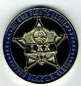 Photo: Cardinal Criminal Justice Academy, 70th Basic, Challenge Coin (Reverse)