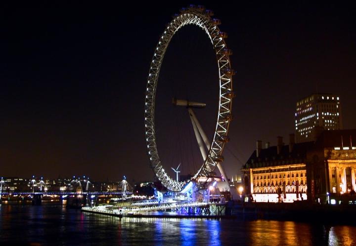 London Eye di danger