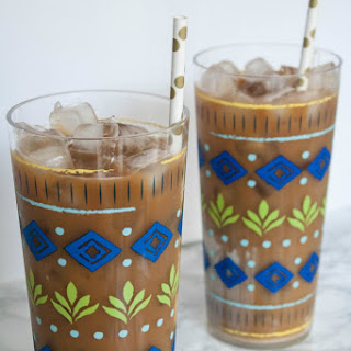 The Best Homemade Iced Coffee.