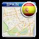 スペインオフラインマップガイドホテル