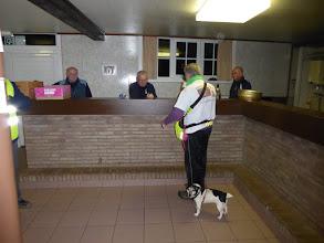 Photo: sinte pieter met zijn hondje...