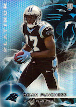 Photo: Devin Funchess 2015 Topps Platinum RC