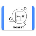 MOSFET transistors database icon