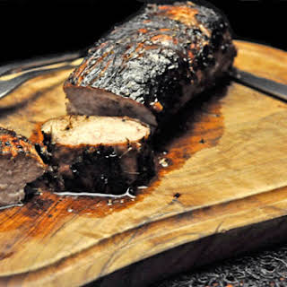Grilled Miso Pork Tenderloin.