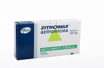 ZITROMAX 500mg Tabletas   Caja x3Tab. PFIZER Azitromicina