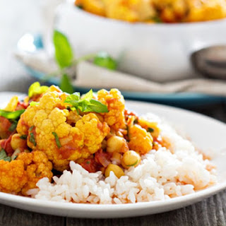 Thai Massaman Vegetarian Curry.